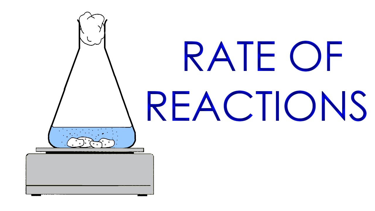 Rates of reaction experiment marking guide