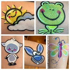Easy face painting instructions
