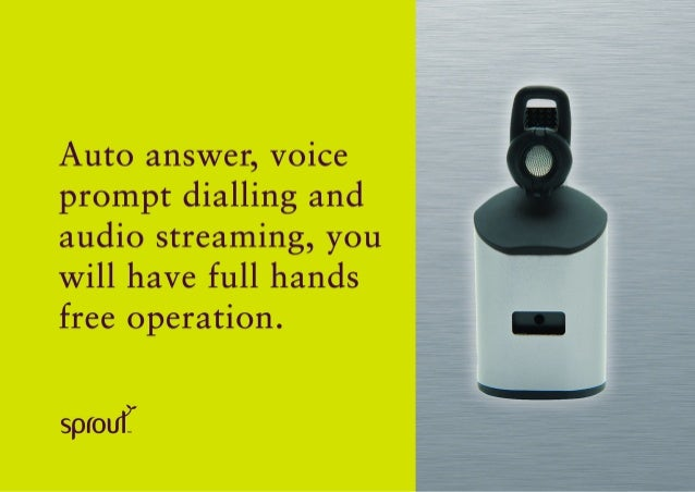 sprout bluetooth headset instructions