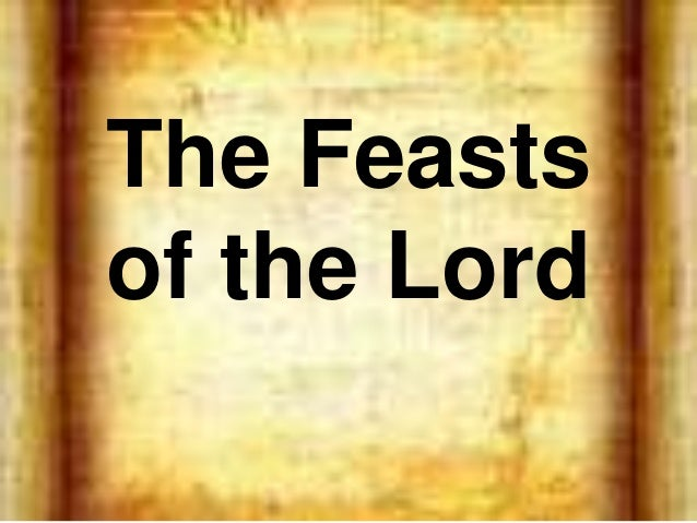 7 feasts of the lord pdf