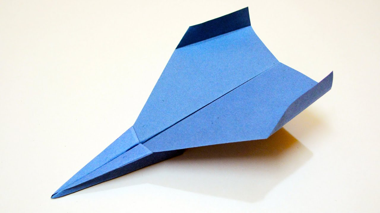 how to make a paper airplane that flies far instructions