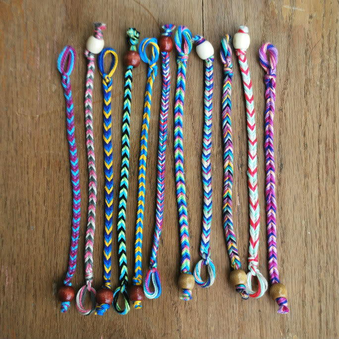 quick and easy friendship bracelet instructions