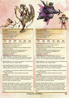 Dungeons and dragons 5e critter compendium pdf