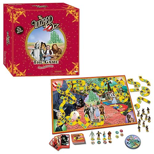 wizard of oz board game instructions